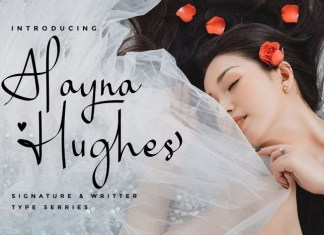 Alayna Hughes Font