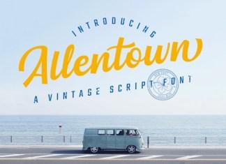 Allentown Font