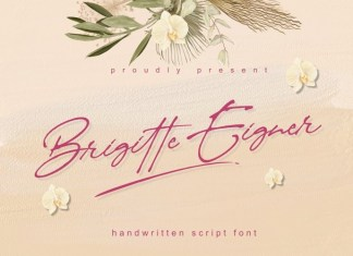 Brigitte Eigner Font