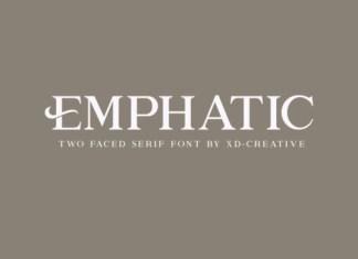 Emphatic Font