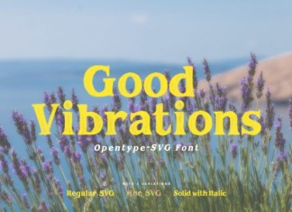Good Vibrations Font