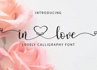 In Love Font