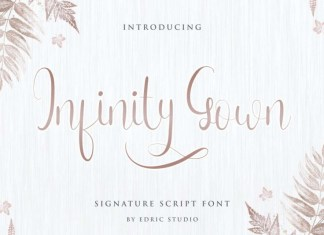 Infinity Gown Font