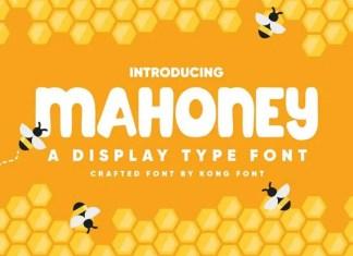 Mahoney Font