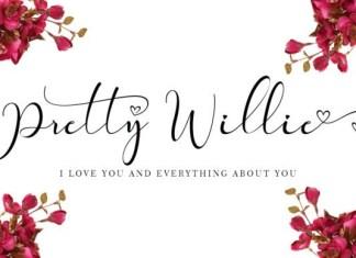 Pretty Willie Font