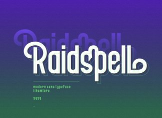 Raidspell Font