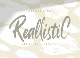 ReallistiC Font