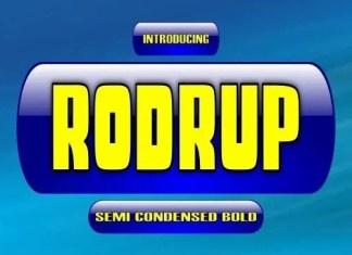 Rodrup Font