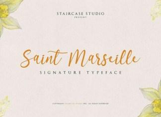 Saint Marseille Font