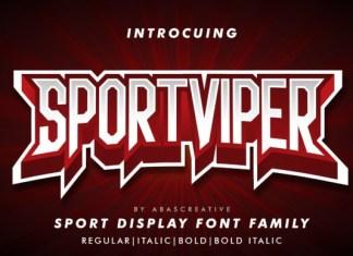 Sport Viper Font