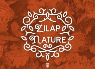 Zilap Nature Font