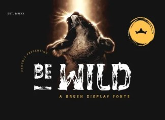BE-WILD Font
