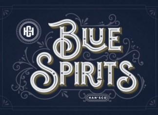 Blue Spirits Font