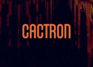 Cactron Font