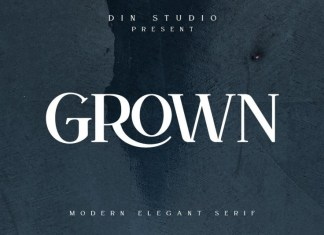 Grown Font