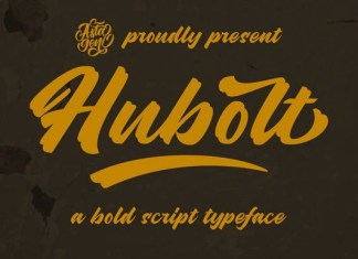 Hubolt Font
