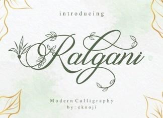 Ralgani Font