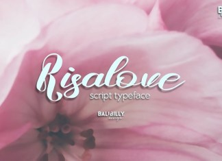 Risalove Font