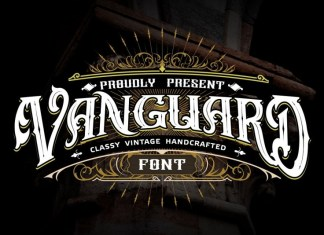 Vanguard Font