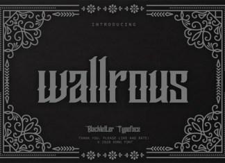 Wallrous Font