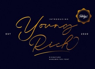 Young Rich Font