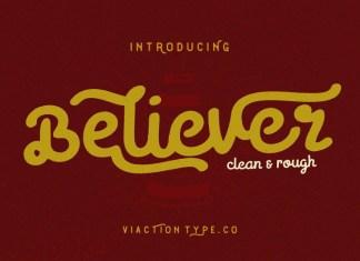 Believer Font