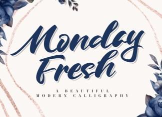 Monday Fresh Font
