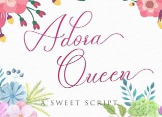 Adora Queen Font