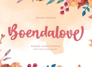 Boendalove Font