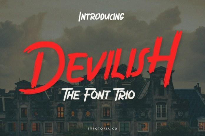 Devilish Font