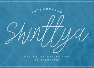 Shinttya Font