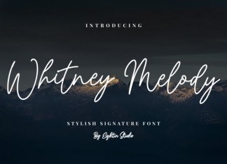 Whitney Melody Font