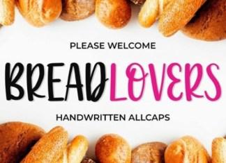 Breadlovers Font