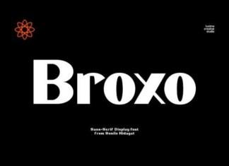 Broxo Font