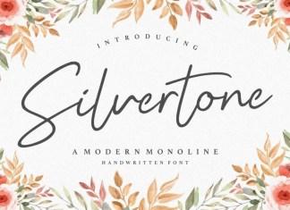 Silvertone Font
