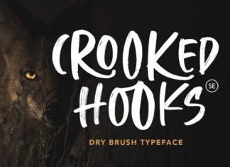 Crooked Hooks Font