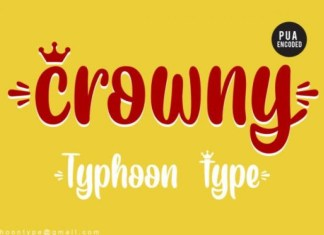 Crowny Font