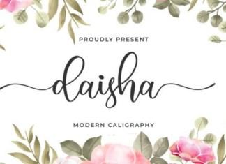 Daisha Font