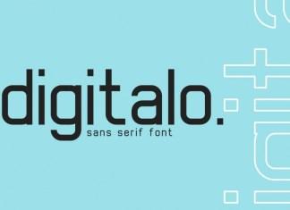 Digitalo Font