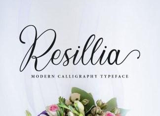 Resillia Font