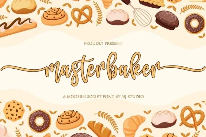 Masterbaker Font