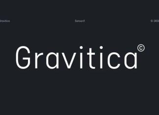 Gravitica Font