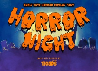 Horror Night Font