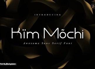 Kim Mochi Font
