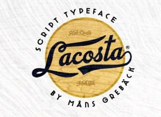Lacosta Font