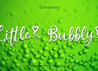 Little Bubbly Font