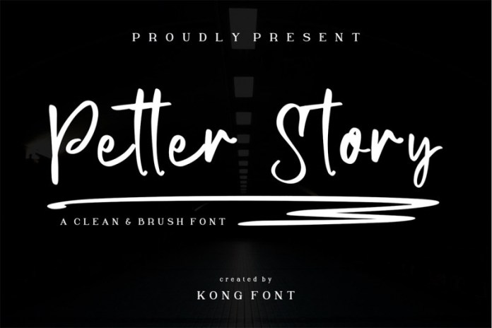 Petter Story Font
