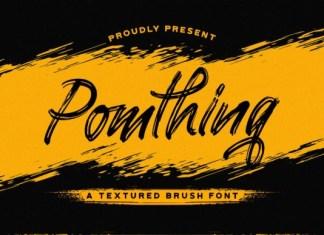 Pomthinq Font