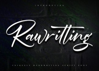 Rawriting Font