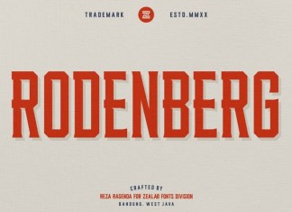 Rodenberg Font